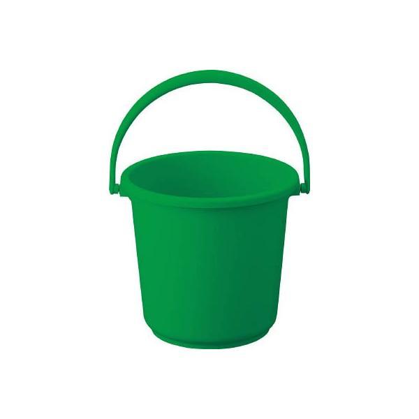 TRUSCO PPカラーバケツ 10L 緑 TPPB-10-GN 清掃用品・バケツ