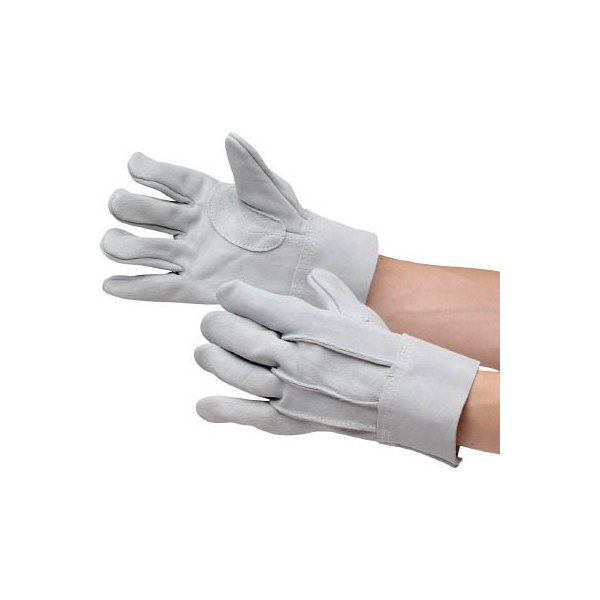 ミドリ安全 牛床革手袋 内縫 MT−102D MT102D