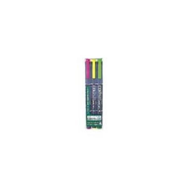 (業務用10セット) ZEBRA ゼブラ 蛍光マーカー/蛍光オプテックスケア 〔3色セット〕 水性顔料インク WKCR1-3C