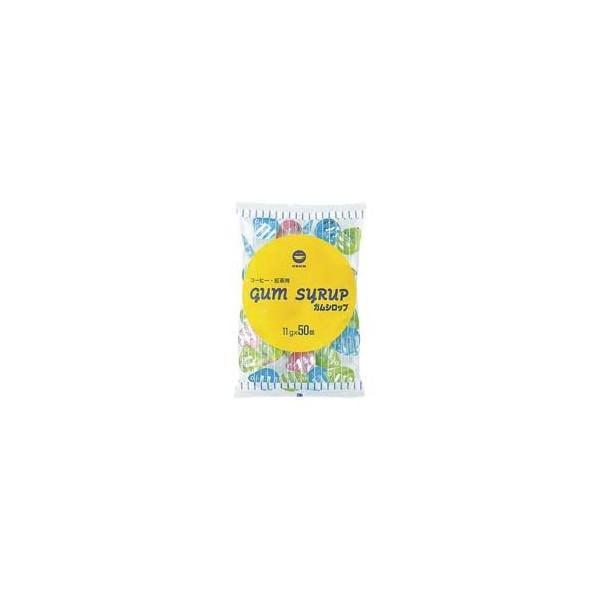 (業務用10セット)日新製糖 ポーションガムシロップ11g×50個 ×10セット