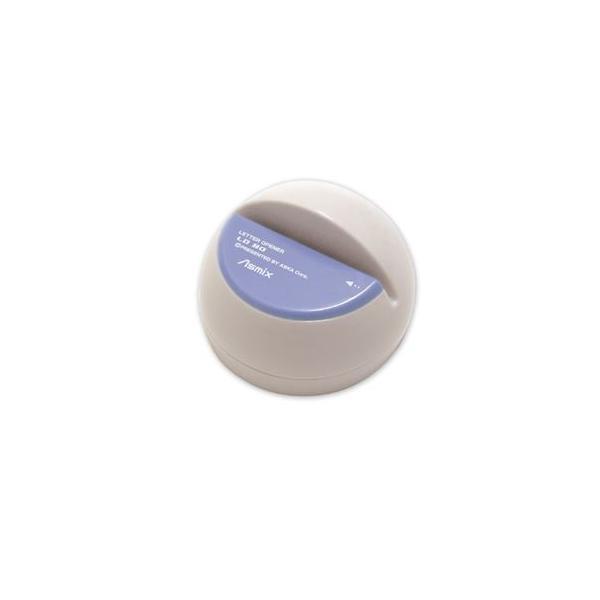(業務用セット) アスカ 電動レターオープナー LO80B ブルー 1台入 〔×2セット〕