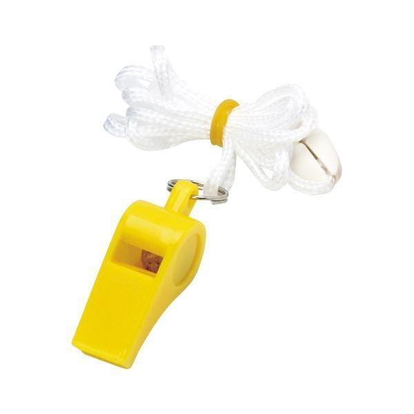 (業務用セット) 銀鳥産業 カラーホイッスル 041-057 黄 1個入 〔×20セット〕