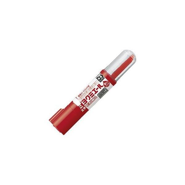 (まとめ) コクヨ ホワイトボード用マーカーペン ヨクミエール 太字・角芯 赤 PM-B513R 1本 〔×30セット〕