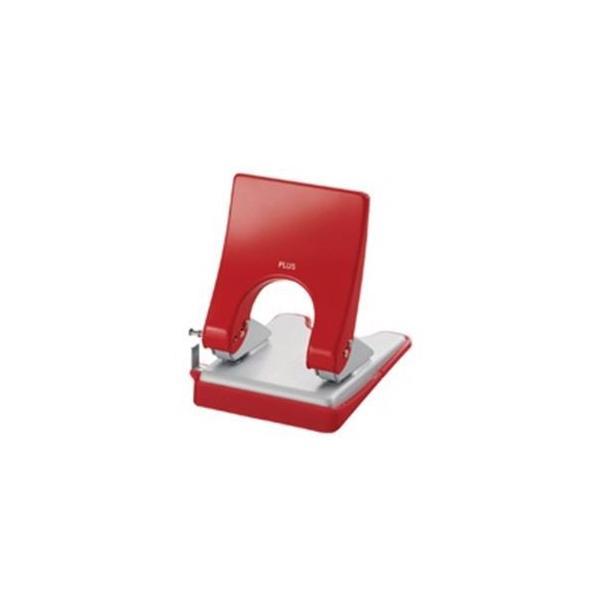 (業務用30セット) プラス パンチ フォース1/2 M PU-830A 赤