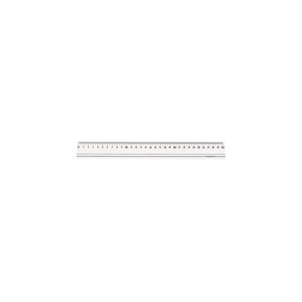 (業務用100セット) 西敬 スモーク定規(ものさし/スケール) 30cm RSR-30B