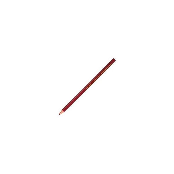 (業務用50セット) トンボ鉛筆 色鉛筆 単色 12本入 1500-25 赤 ×50セット