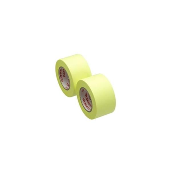 (業務用100セット) ヤマト メモックロール替テープ蛍光 WR-25H-LE