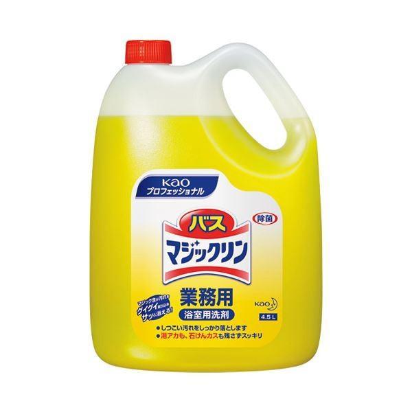 (まとめ) 花王 バスマジックリン 4.5L〔×5セット〕