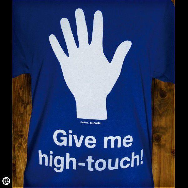 HighTouch ロイヤルブルー 6.2oz半袖Tee SpoTee|redbros|04