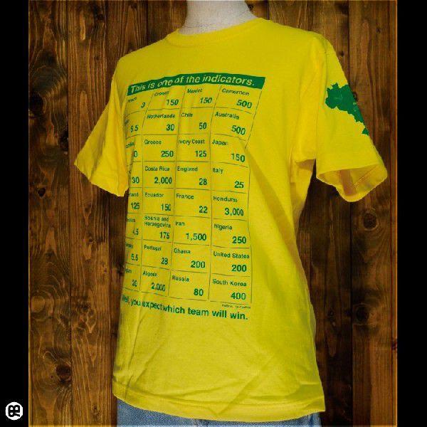 NowBetting : イエロー/6.2oz半袖Tee/SpoTee/サイズ XS,S,M,L/メンズ/レディース/Tシャツ専門店|redbros|03
