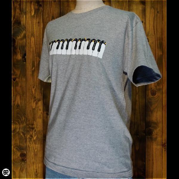 Tシャツ/メンズ/レディース/6.2oz半袖Tシャツ : Peano : ヘザーグレー|redbros|03
