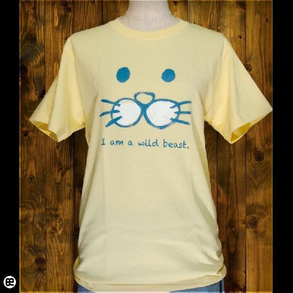 Tシャツ/メンズ/レディース/6.2oz半袖Tシャツ : けもの : イエローヘーゼ|redbros