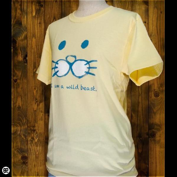 Tシャツ/メンズ/レディース/6.2oz半袖Tシャツ : けもの : イエローヘーゼ|redbros|03