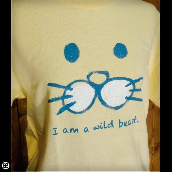 Tシャツ/メンズ/レディース/6.2oz半袖Tシャツ : けもの : イエローヘーゼ|redbros|04