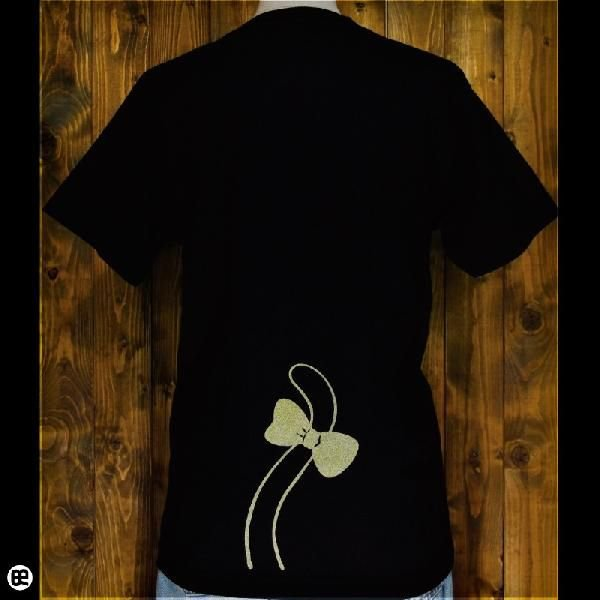 Tシャツ/メンズ/レディース/6.2oz半袖Tee : かくれんぼ : ディープブラック|redbros|02
