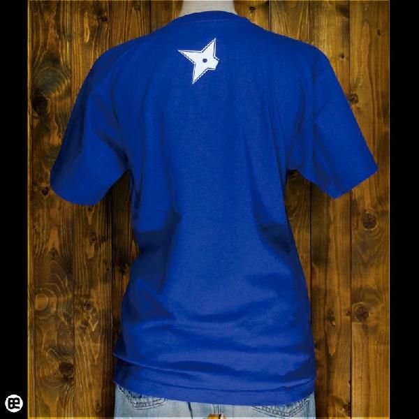 Tシャツ/メンズ/レディース/6.2oz半袖Tシャツ : ニンニン : ロイヤルブルー|redbros|02