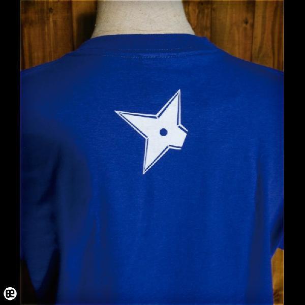 Tシャツ/メンズ/レディース/6.2oz半袖Tシャツ : ニンニン : ロイヤルブルー|redbros|05
