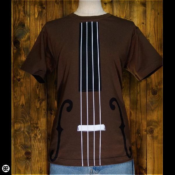 Tシャツ/メンズ/レディース/6.2oz半袖Tシャツ : kontrabass : ブラウン|redbros