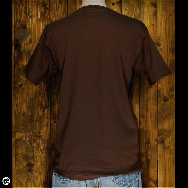 Tシャツ/メンズ/レディース/6.2oz半袖Tシャツ : kontrabass : ブラウン|redbros|03