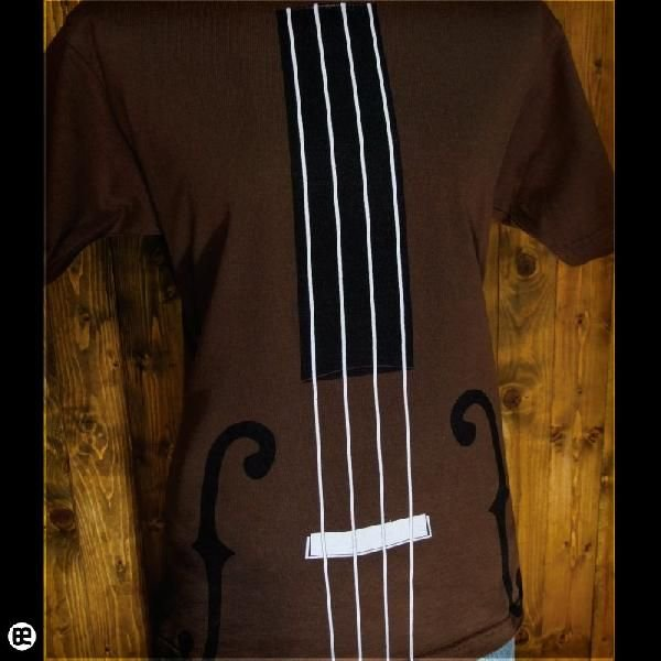 Tシャツ/メンズ/レディース/6.2oz半袖Tシャツ : kontrabass : ブラウン|redbros|04