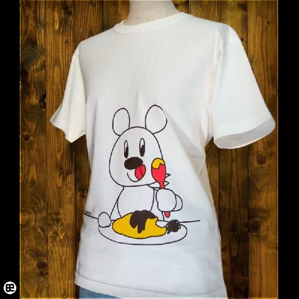 Tシャツ メンズ レディース 6.2oz半袖Tシャツ OMUHAYASHI ナチュラル|redbros|03