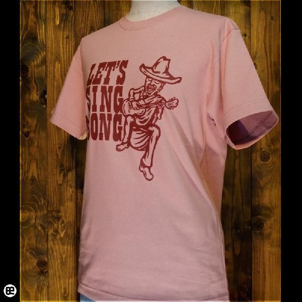 Tシャツ メンズ レディース 6.2oz半袖Tee great adventure ローズウッド|redbros|03