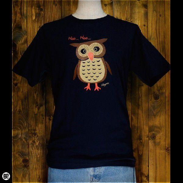 Tシャツ メンズ レディース 6.2oz半袖Tシャツ ホウ次郎 ネイビー|redbros