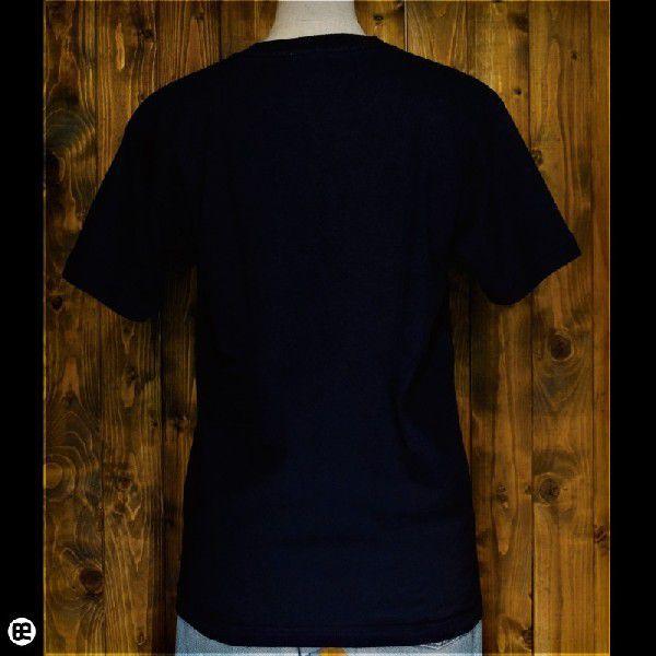 Tシャツ メンズ レディース 6.2oz半袖Tシャツ ホウ次郎 ネイビー|redbros|02