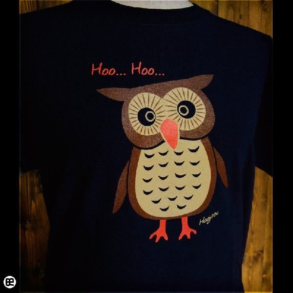 Tシャツ メンズ レディース 6.2oz半袖Tシャツ ホウ次郎 ネイビー|redbros|04