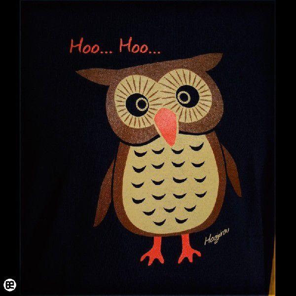 Tシャツ メンズ レディース 6.2oz半袖Tシャツ ホウ次郎 ネイビー|redbros|05