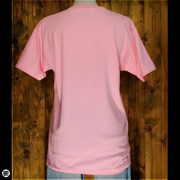 Tシャツ/メンズ/レディース/6.2oz半袖Tシャツ : のぼるパンダ : ピンク|redbros|02