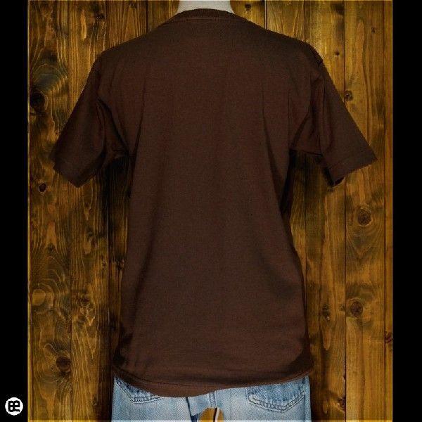 Tシャツ/メンズ/レディース/6.2oz半袖Tシャツ : 乾杯する埴輪 : ブラウン|redbros|02