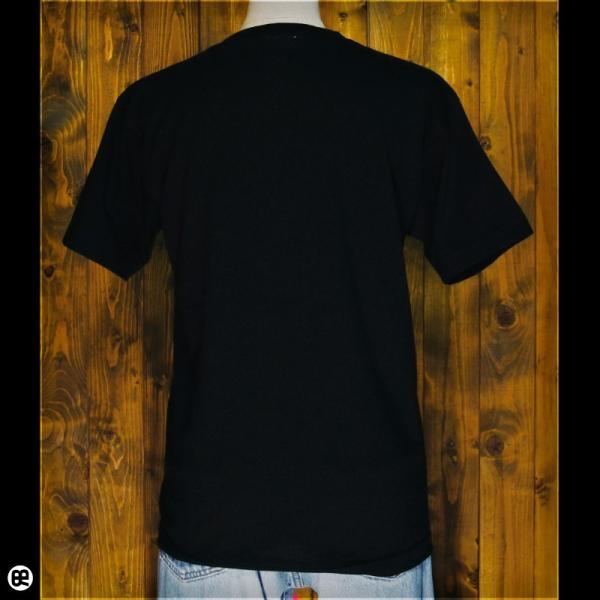 Tシャツ/メンズ/レディース/6.2oz半袖Tシャツ :  星に願いを : ブラック redbros 03