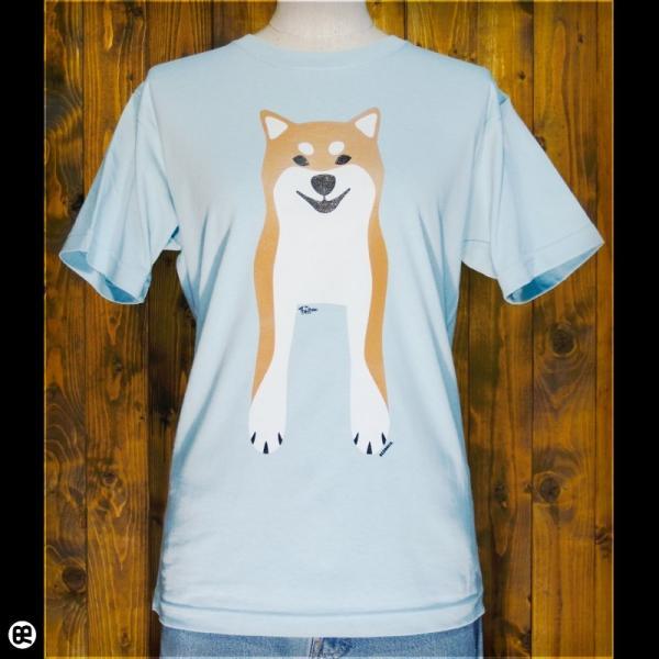 Tシャツ/メンズ/レディース/6.2oz半袖Tシャツ : Shiba Inu(FS) : フロストスカイ|redbros