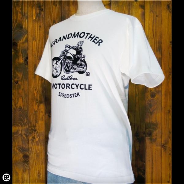 Tシャツ メンズ レディース 6.2oz半袖Tシャツ grandmother ナチュラル|redbros|03