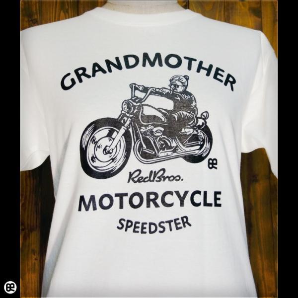 Tシャツ メンズ レディース 6.2oz半袖Tシャツ grandmother ナチュラル|redbros|04