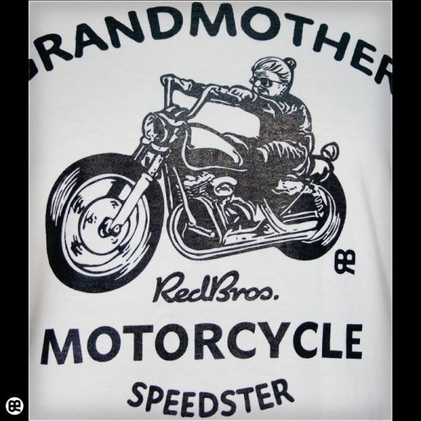 Tシャツ メンズ レディース 6.2oz半袖Tシャツ grandmother ナチュラル|redbros|05