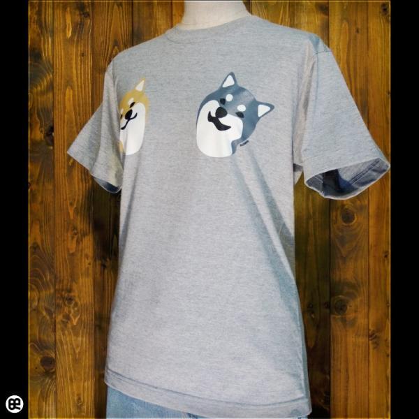 Tシャツ メンズ レディース 6.2oz半袖Tシャツ こましば ヘザーグレー|redbros|03