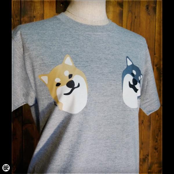 Tシャツ メンズ レディース 6.2oz半袖Tシャツ こましば ヘザーグレー|redbros|04