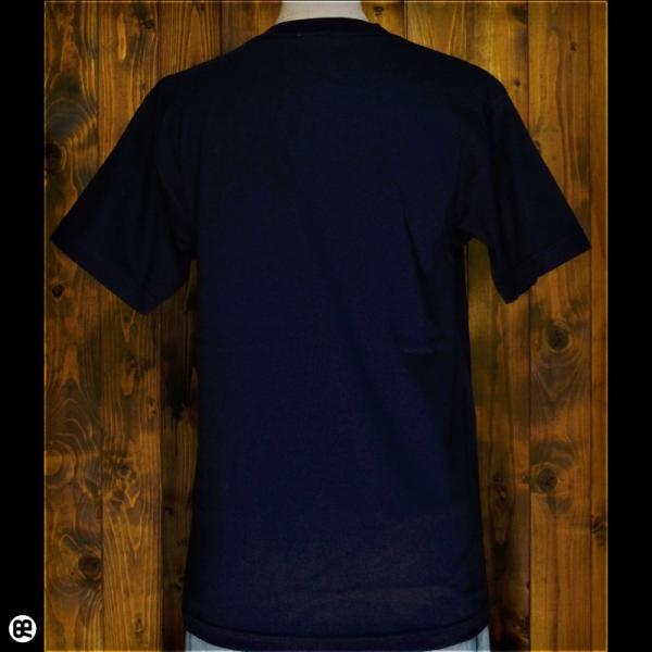 Tシャツ/メンズ/レディース/6.2oz半袖Tシャツ : チェックdeチェック : ネイビー redbros 02