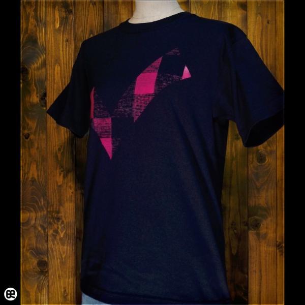 Tシャツ/メンズ/レディース/6.2oz半袖Tシャツ : チェックdeチェック : ネイビー redbros 03