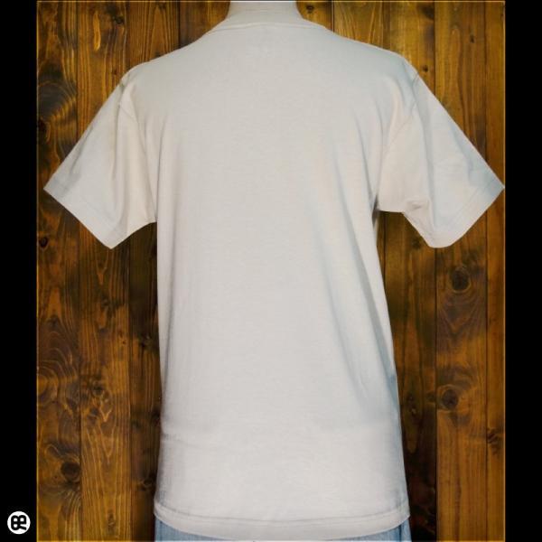 Tシャツ メンズ レディース 6.2oz半袖Tシャツ サバトラドット ストーン|redbros|02