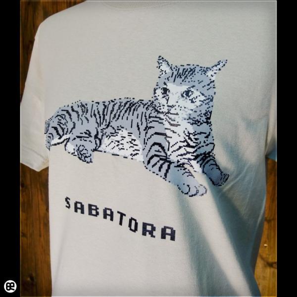 Tシャツ メンズ レディース 6.2oz半袖Tシャツ サバトラドット ストーン|redbros|04