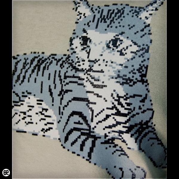 Tシャツ メンズ レディース 6.2oz半袖Tシャツ サバトラドット ストーン|redbros|05
