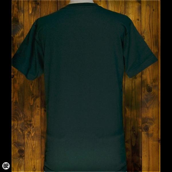 Tシャツ メンズ レディース 6.2oz半袖Tシャツ ワニのにわ フォレストグリーン redbros 02