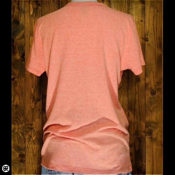 Tシャツ メンズ レディース 4.3oz半袖Tee UMA ヘザーオレンジ|redbros|02