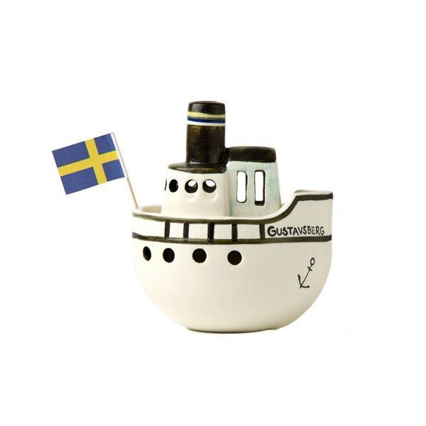 リサ・ラーソン グスタフスベリ ボート / LISA LARSON GUSTAVSBERG BOAT /  (正規代理店品 リサラーソン 陶器 置物 インテリア 北欧雑貨 オブジェ)