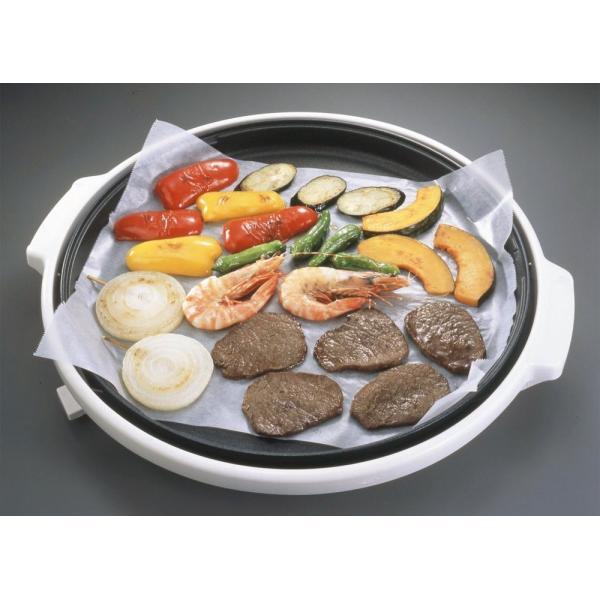 アルファミック クッキングシート オーブンペーパー 漂白 幅30cm×50m オーブンに 電子レンジに ホットプレートに 蒸し料理に|redheart|03