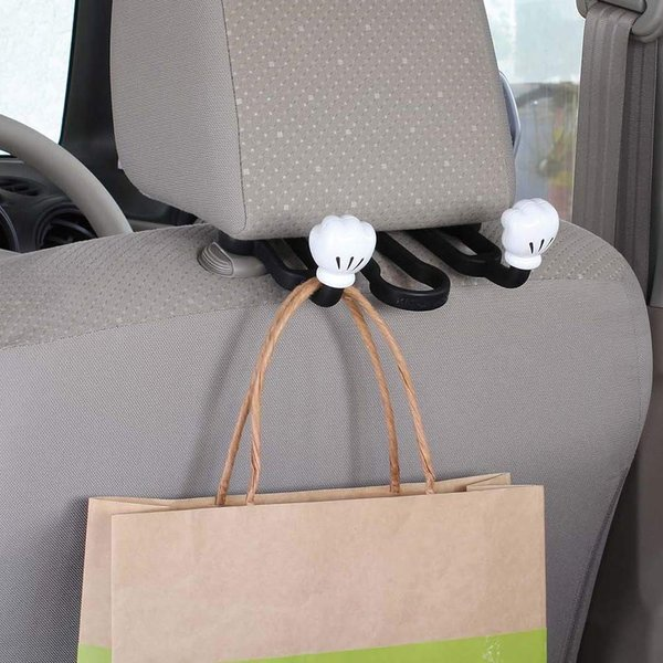 ナポレックス 車用 シートフック ディズニー ダブルアームシートフック ミッキー 総耐荷重5kg 傘かけにも ヘッドレスト取付 汎用 WD-371|redheart|03