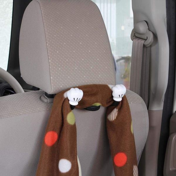 ナポレックス 車用 シートフック ディズニー ダブルアームシートフック ミッキー 総耐荷重5kg 傘かけにも ヘッドレスト取付 汎用 WD-371|redheart|05